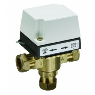 3 port 22mm Mid-Position Valve HS3. Danfoss. Motorized Valve.